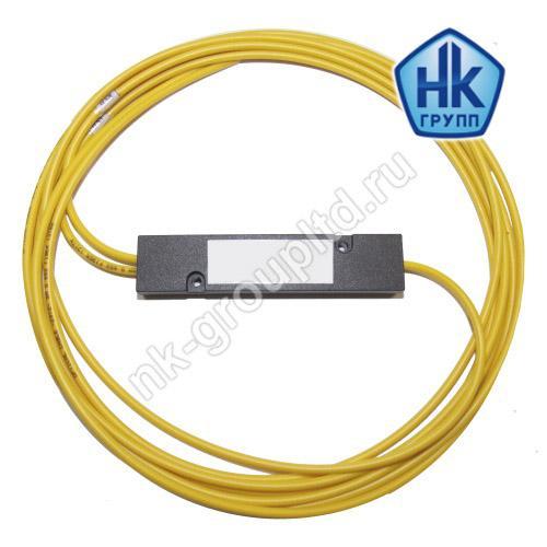 1х2, 3,0 мм, Оптический планарный PLC разветвитель (сплитер), неоконцованный