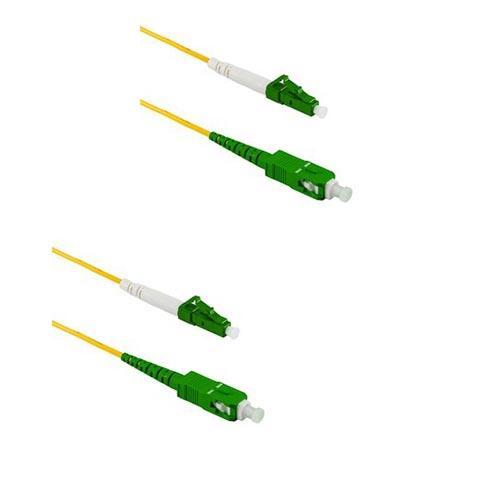 Патчкорд duplex LC/APC-SC/APC, SM, 2м
