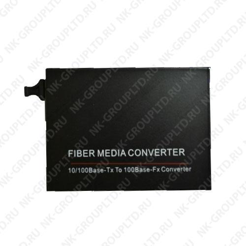 Медиаконвертер WDM SC/SM/20km, 10/100 Mb/c, 1550 нм, внешний блок питания