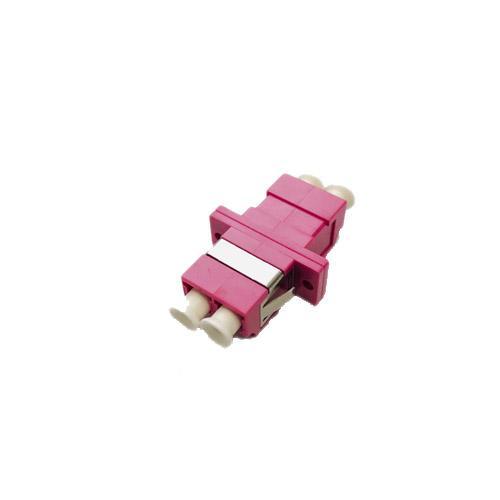 Розетка (адаптер) соединительная duplex LC/UPC-LC/UPC, MM (ОМ4)