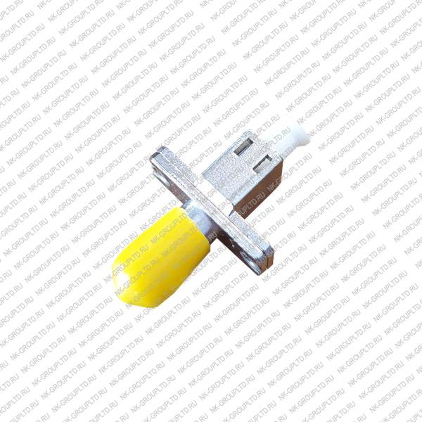 Переходная розетка (адаптер) simplex LC/UPC-ST/UPC, SM