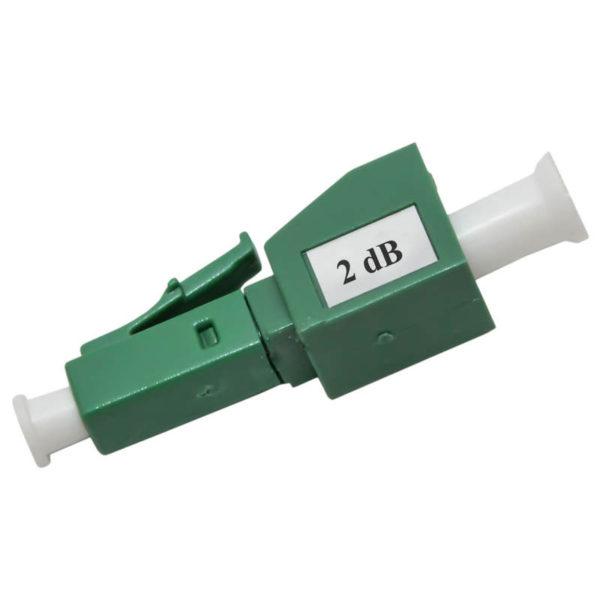 Фиксированный FM-аттенюатор LC/APC, 5,10,15 дБ (male-female)