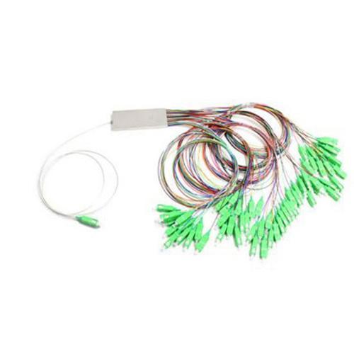 1х64, 0,9мм, Оптический планарный PLC разветвитель (сплитер) SC/APC