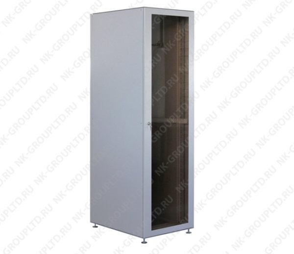 Шкаф напольный 24U (600*800) дверь стекло