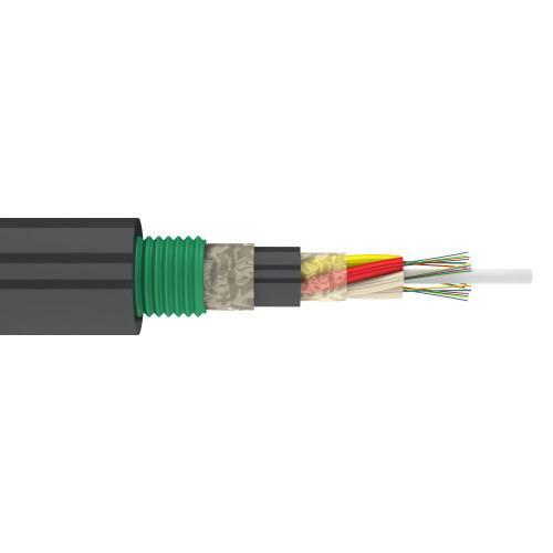 ТОЛ-П-08М-2,7кН (для канализации, центральная трубка, многомод 50/125, 8 волокон, 2,7 кН)