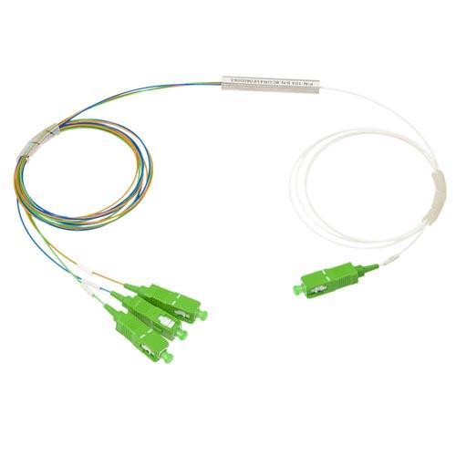 1х3, 0,9 мм, Оптический планарный PLC разветвитель (сплитер), SC/APC