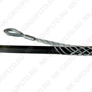 Разъемный (проходной) кабельный чулок, ⌀80-95мм, L=900мм, 1 петля, 100кН
