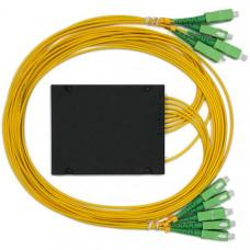 1х6, 3,0мм, Оптический сплавной разветвитель (сплитер), SC/APC