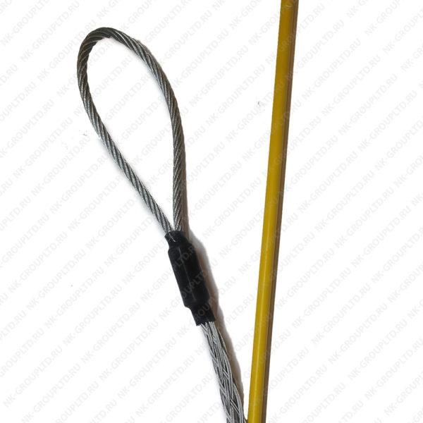 Кабельный чулок боковой, ⌀50-65мм, L=1500мм, 1 петля 80кН