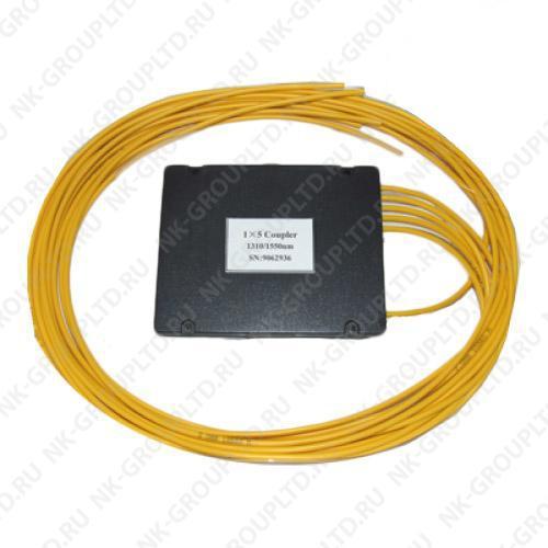 1х6, 3,0мм, Оптический сплавной разветвитель (сплитер), неоконцованный