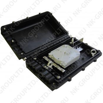 Муфта оптическая GJS-5002 (12 волокон (до 48) волоконно-оптическая муфта (планка 8SC)