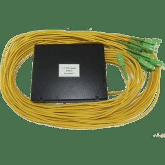 Оптический сплавной разветвитель (сплитер) 1х14 с разъемами SC/APC