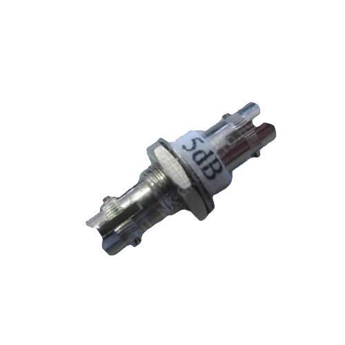 Фиксированный аттенюатор-розетка ST, 5,10,15 и 20 дБ (female-female)