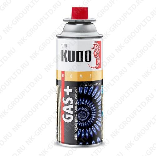 Газ универсальный (для портативных газовых приборов) KUDO (520мл)
