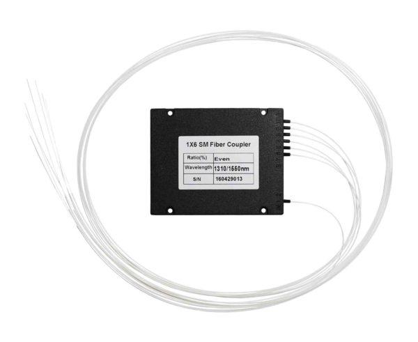 1х6, 0,9мм, Оптический сплавной разветвитель (сплитер), SC/APC