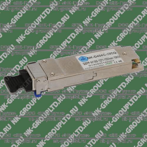 Модуль QSFP 4x10G 1271-1331nm, 10km, разъем LC