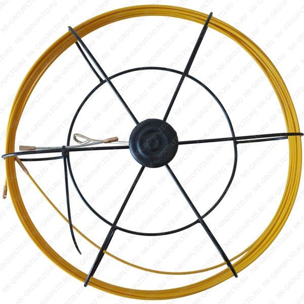 Мини-УЗК протяжка для кабеля(кондуктор)(В кассете Max), D=4,5 мм, Lm=100 метров