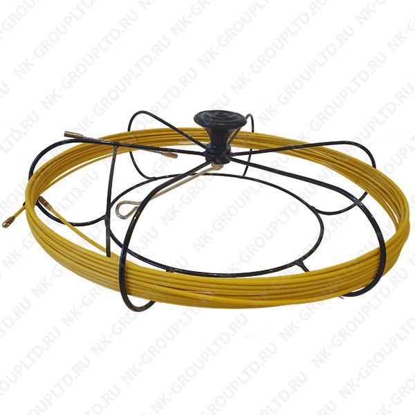 Мини-УЗК протяжка для кабеля(кондуктор)(В кассете Max), D=3,5 мм, L=70 метров