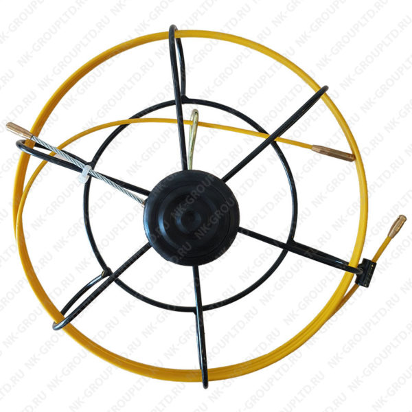 Мини-УЗК протяжка для кабеля(кондуктор)(В кассете Mini), D=3,5 мм, L=25 метров