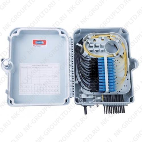 Оптическая кросс-муфта GJS-X24, настенный сплиттерный бокс FTTH до 24 портов SC