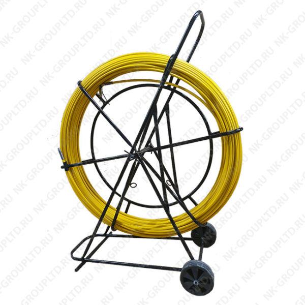 УЗК протяжка для кабеля(кондуктор)(на тележке), D=11 мм, L=500 метров