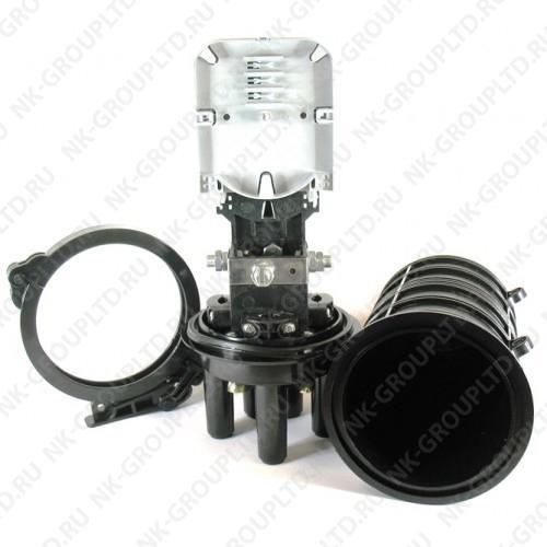 Муфта оптическая тупиковая GJS-8004 (FOSC-D, GJS-D013) (24 волокна)
