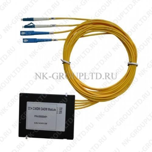 Оптический мультиплексор/демультиплексор CWDM 9-канальный