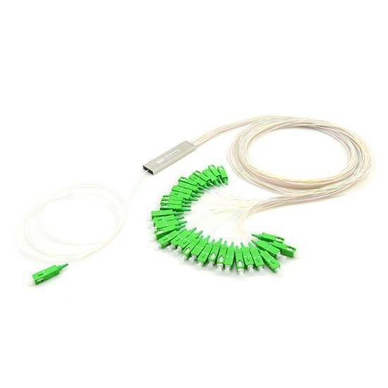 1х32, 0,9мм, Оптический планарный PLC разветвитель (сплитер) SC/APC