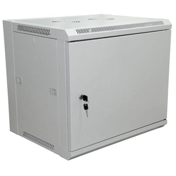 """Шкаф настенный 19"""" 9U (600*600) дверь металл"""
